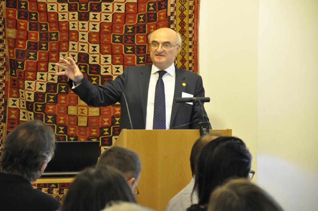 John Dawson opens discussion