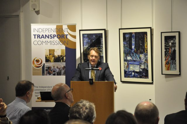 The Rt Hon John Hayes MP discusses his views on beauty in transport